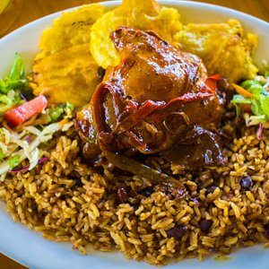 Try  the Rice & Beans with chicken at our Food & Culture Tour