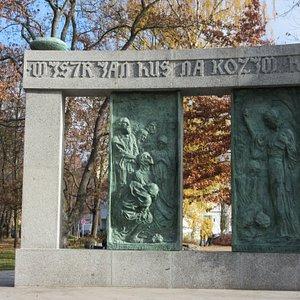 Tabor, Jan Hus memorial by Frantisek Bilek