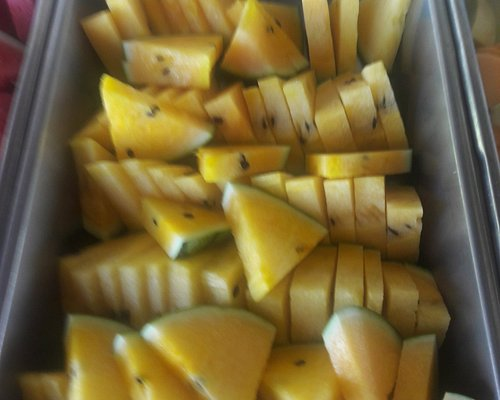 yellow watermelon sweet and fresh
