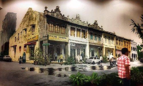 Street Art in Kluang Mall