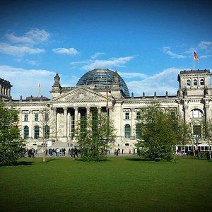 Plenarbereich Reichstagsgebäude