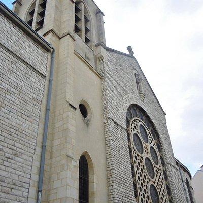 Latéral de l'église