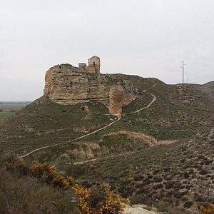 Castillo de Castellar, aledaños del galacho de Juslibol