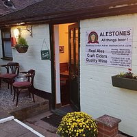 Our lovely little micropub, the best kept secret in Worcestershire