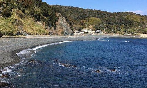 大分市の東端、佐賀関半島の不思議 黒ケ浜