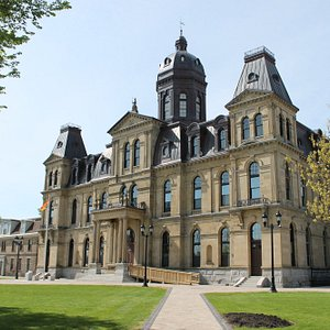 The Legislative Assembly of New Brunswick has been the seat of government since 1882.
