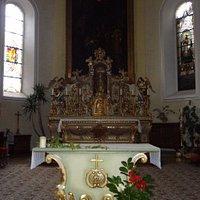 Wettolsheim - Eglise Saint-Rémi (maître-autel)