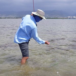 My first bonefish with Ed.  I had a great time
