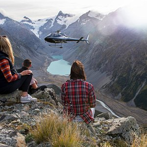 Christchurch Helicopters mid-flight