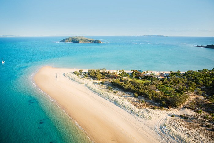 Great Keppel Island from above