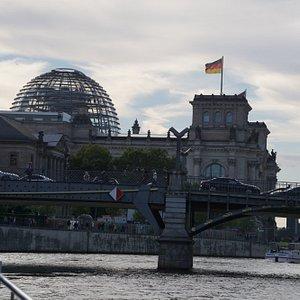 Bridge near the Reichstag.