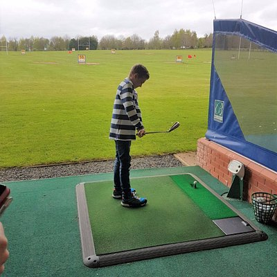 Practise golf for youngsters and other ages