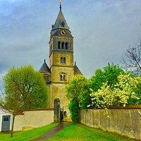 Tolle Kirche im kleinen Brenz