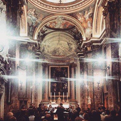 concerto a San Nicola dei lorenesi