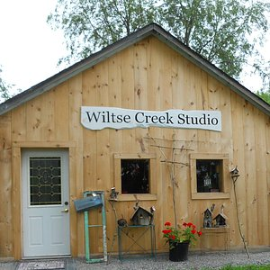 Wiltse Creek Studio in the Outlet at Charleston Lake. The Outlet is a place, not a building.