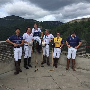 British Polo Day Members on the Great Wall at Mutianyu