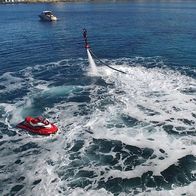 Flyboard Drone Shot