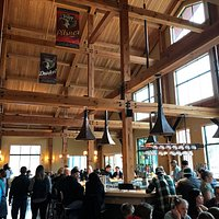 Beautiful new Trapp Lodge Brewing and Bierhall