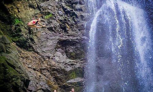 Excursion to the nearby Montezuma Waterfalls
