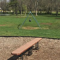 Swings for younger kids missing two of them