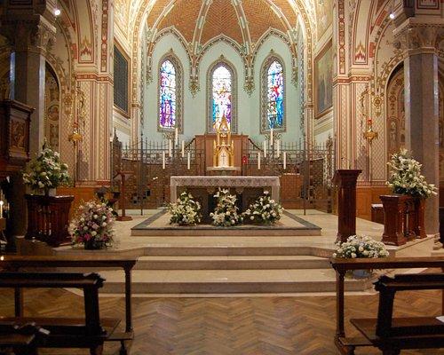 Interno della chiesa monastica
