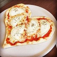 La pizza enfant ! 💖