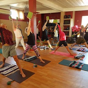 Slow Yoga Flow class every Tue/Thu 9am.