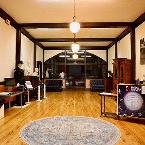 Main floor gallery