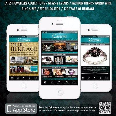 Careems Jewellers Introduced the first Jewellery iPhone App in Sri Lanka