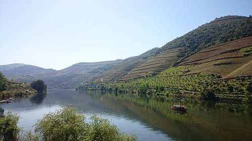 View of the Douro from Pinhao