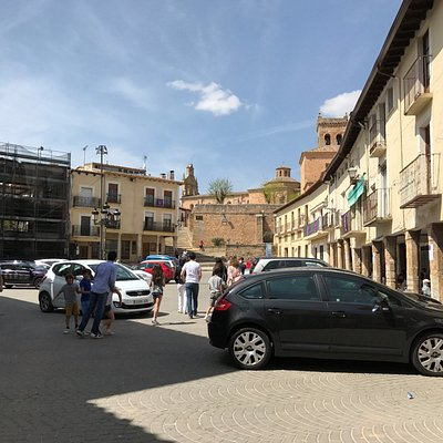 Plaza Mayor de Cifuentes.