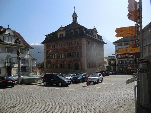Un'altra prospettiva della Rathaus
