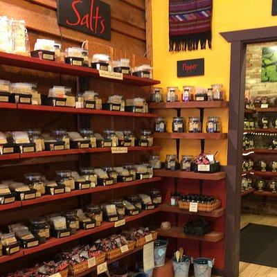 Salt selections and sampler packs