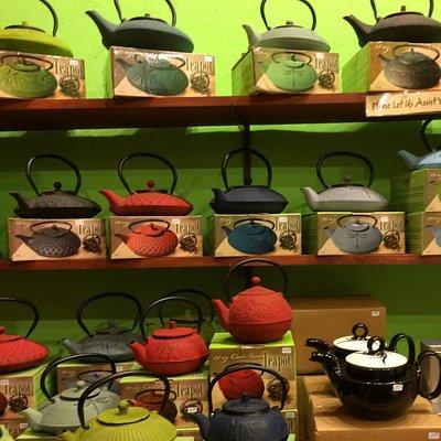 Tea pot selections