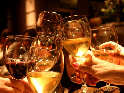 Raise a glass with friends, new or old!