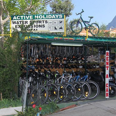 Rent a bike fortuna next to hotel Dalmacija, Makarska