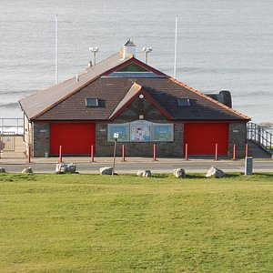 Rest Bay lifeguard station