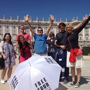 Madrid básico PALACIO REAL a mitad de ruta