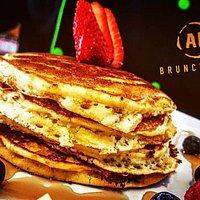 Promoción de los domingos, All you can eat pancakes for $50 pesos