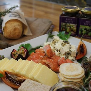 Regional tasting platter at Moore Wilson