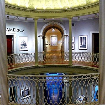 Beautiful contemporary photo exhibit