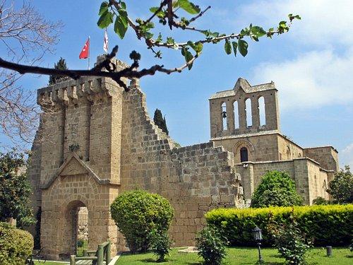 Blick auf die Klosteranlage