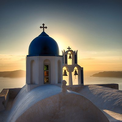 Santorini, an image by Phil Malpas