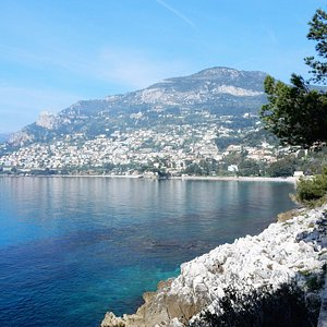 view of Monte Carlo from the path