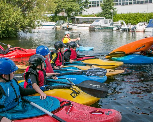 Professional kayak instruction with qualified instructors
