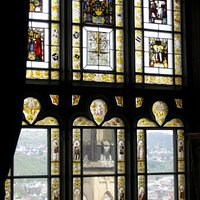 Blick aus Schloss Stolzenfels