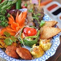 Nakhon Thai platter