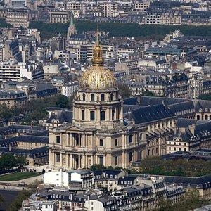 Montparnasse Aussicht Invalidendom