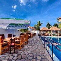 Coco Bean Restaurant's outside terrace