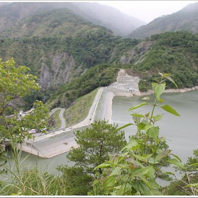 the dam view